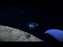 Space Engineers - Amba ECM Frigate test flight