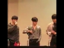 Hanbin Okay any foreigner here - Jinhwan If you asked for foreigner in korean, how can the