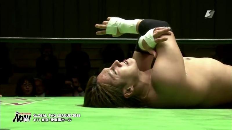 Hajime Ohara vs. HAYATA (NOAH - Global Tag League 2018 - Day 10)