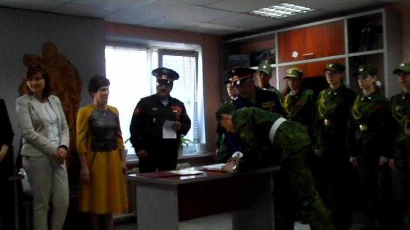 Принятие присяги на Посту №1 города Набережные Челны