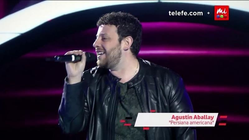 Agustín Aballay - Persiana americana - Soda Stereo - La Voz Argentina 2018