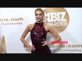 Emma Hix 2019 XBIZ Awards Red Carpet Fashion