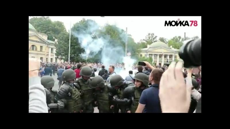 The Prodigy - Breathe Антикоррупционный митинг