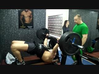 11.02.2019, Руслан Таужанов жмет лежа 140 кг