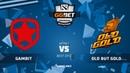 Gambit Esports vs Old but Gold (карта 1), GG.Bet Birmingham Invitational | Плей-офф