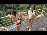 Morgan Rodriguez, Kattie Hill (Stepsisters Need Some Fun Too! Blowjob, FFM, All Sex