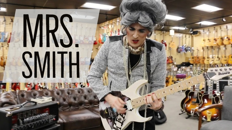 Mrs. Smith steals the show at Normans Rare Guitars