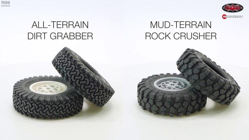 Review RC4WD tires for LEGO Обзор новой RC4WD резины для ЛЕГО
