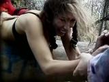 сексуальное насилие(групповое изнасилования, rape) из фильма Hunting Season - 2000 год