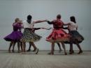 На фестивале танцевальный ансамбль Лаки Линкс