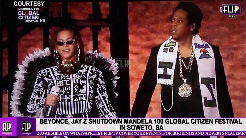 BEYONCE - GLOBAL CITIZEN FESTIVAL IN SOWETO, SA, 2018