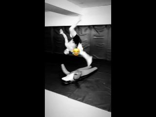 Акробатика вместе с Петром Яном)