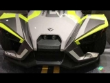 2018 Polaris Slingshot SLR Exterior and Interior Walkaround LA Auto Show