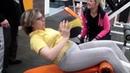 Обучение в фитнес школе ПЕРСПЕКТИВА. Практика проходит в Х-ПРАЙДе. Часть 2