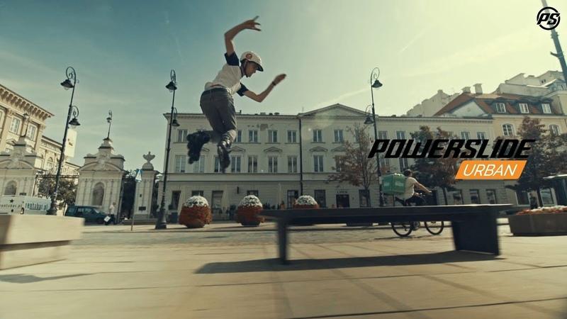 Freeskate session in Warsaw - Powerslide Urban inline skates