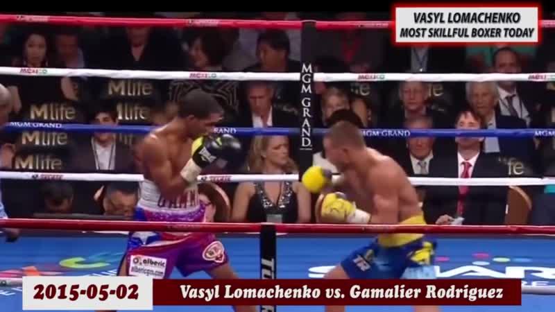Василий Hi tech Ломаченко Невероятная техника
