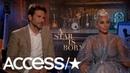 Интервью Леди Гаги и Брэдли Купера для «Access» (10 сентября)