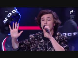 """Carla's dreams & cristian moldovan - """"până la sânge"""",finala x factor 2018, 23 dec. 2018"""