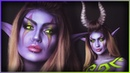 Night Elf Demon Hunter World of Warcraft Cosplay/Bodypaint Djarii