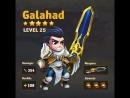 HERO WARS HERO STATS ANIMATION-GALAHAD