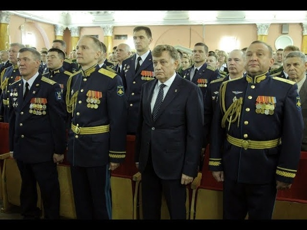 В.Макаров поздравил преподавателей и курсантов академии им. А.Ф. Можайского