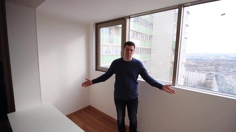 ЖК Лазурный объединение балкона с комнатой! Балкон под ключ.