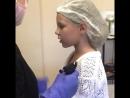 Прокол мочки уха у девочек (2)