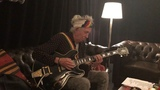 Keith Richards on Instagram Warming up to Chuck Berry before hitting the stage!