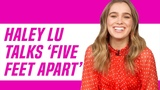 Haley Lu Richardson Talks 'Five Feet Apart' and Cole Sprouse