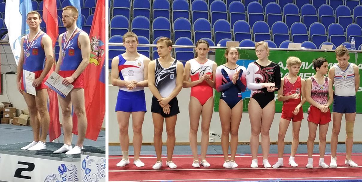 Таганрогские батутисты привезли золотые, серебряные и бронзовые медали с соревнований в Раменском