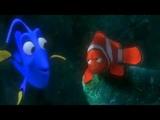 Finding nemo just keep swimming scene