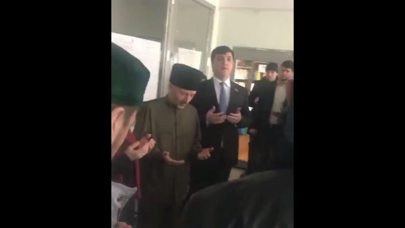 Муфтий отметился [Dagestan today]