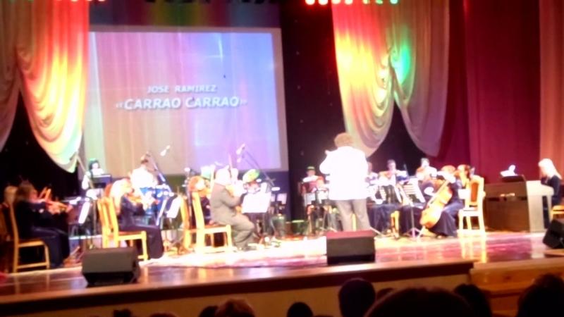 Концертный эстрадный оркестр г.Мозыря - Дни культуры Венесуэлы в РБ - Carrao-carrao - (из архива оркестра)