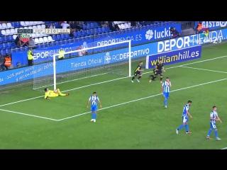 RC Депортиво Ла Корунья - Гранадда CF, 2-1, гол Анхеля Монторо со штрафного