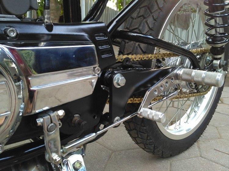 Yohansuper: кафе рейсер Yamaha RX 115