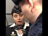 Любовь Успенская - инцидент в самолете