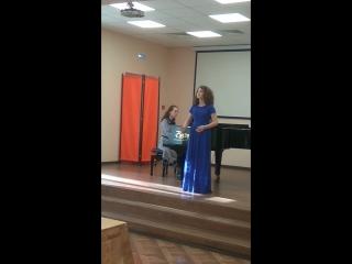 Петросян София - А. Даргомыжский. Песня Ольги из оперы «Русалка»
