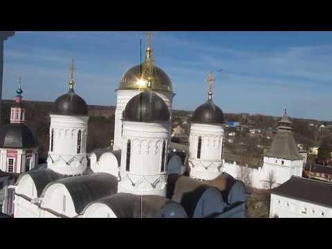 Лезем на колокольню. Пафнутьево-боровский монастырь.
