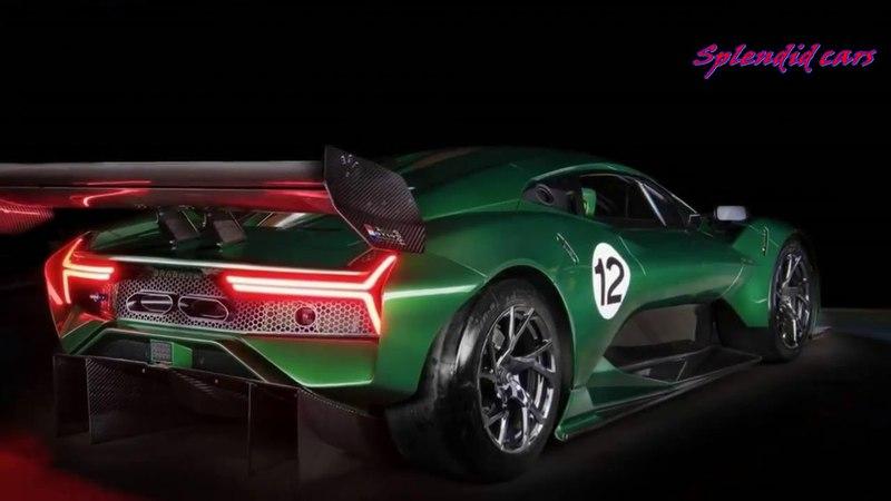 Brabham BT62 V8 700HP HYPERCAR 2019 Суперкар будет выпущен в 70 ти экземплярах смотреть онлайн без регистрации