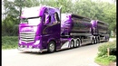 BIGtruck Trophy 2018 with Mika Auvinen, New Scania V8 open pipes