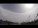 Уникальное видео: Глаз урагана Майкл вблизи Панама-Сити (Флорида, США 10.10.2018)