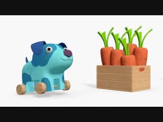 Деревяшки - Посылка - Серия - 49 - развивающие мультики для малышей