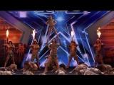 Удивительный танцевальный коллектив