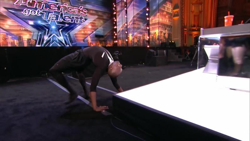 LEAK_ Troy James Terrifies Judges With Chilling Contortion - Americas Got Talent 2018