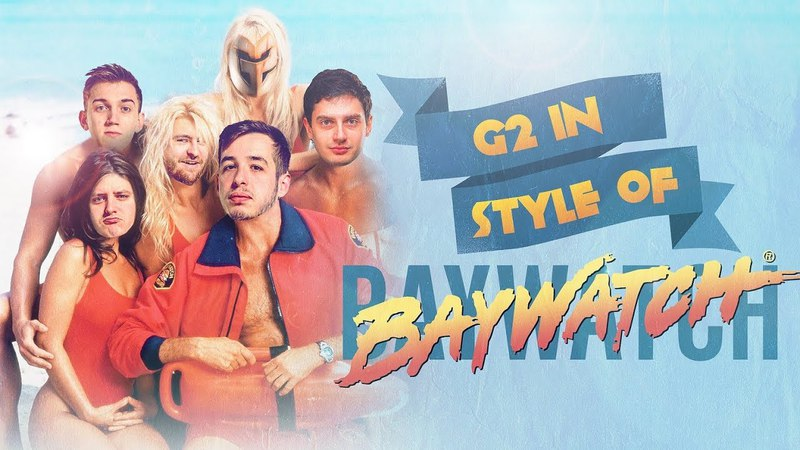 Baywatch Marseille: G2 CS:GO Edition