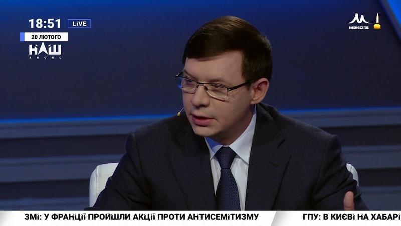 20 февраля 2019 Мураєв Влада розрахувалася Кримом за невтручання РФ після Майдану Події дня НАШ 20 02 19