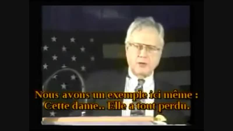TED GUNDERSON (1987) DÉNONCE AUX USA LA PÉDOPHILIE ET LES CRIMES D'ENFANTS.