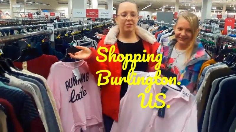Shopping Burlington США Аляска Анкоридж