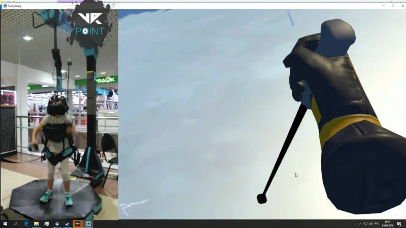 Fancy Skiing into VR-point