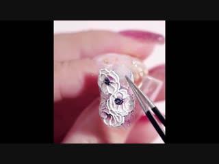 3D наклейки для дизайна ногтей